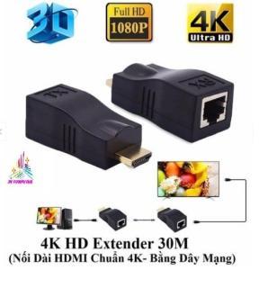 hdmi sang lan ,Bộ kéo dài HDMI 30M qua cáp mạng LAN RJ45 cat6 ,Đầu chuyển đổi HDMI to LAN 30M thumbnail