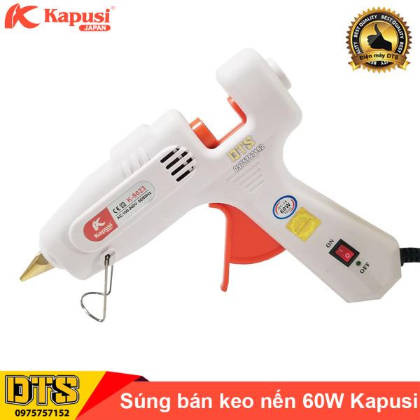 Dụng cụ bắn keo nến silicon cầm tay 60W Kapusi JAPAN (Máy bắn keo nến)