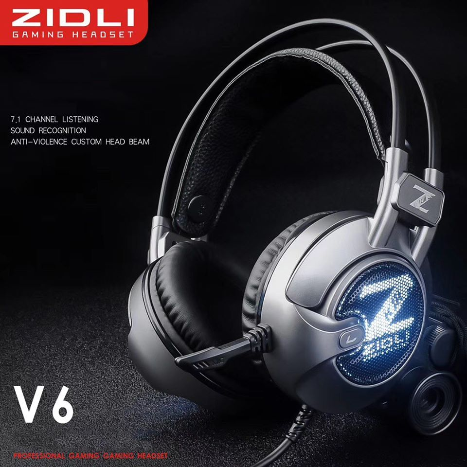Tai Nghe Zidli ZH-V6 led 7.1