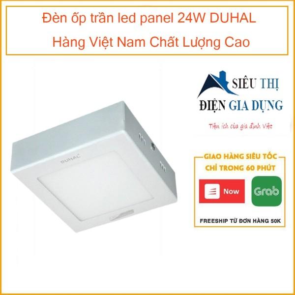 Đèn ốp trần led panel 24W DUHAL Hàng Việt Nam Chất Lượng Cao KEGB524