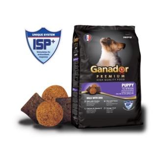 Thức Ăn Hạt Cho Chó Ganador Puppy vị Sữa và DHA Thơm Ngon Dành Cho Chó Kén Ăn thumbnail