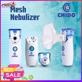 Máy xông mũi họng điện dung CHIDO, Công nghệ Nhật Bản, Sản Phẩm hỗ trợ điều trị hiệu quả các bệnh về đường hô hấp viêm mũi, viêm họng, viêm phế quản, hen suyễn thumbnail