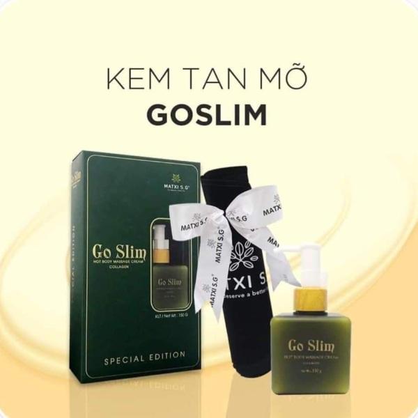 KEM TAN MỠ GOSLIM (Tặng kèm đai nịt bụng)