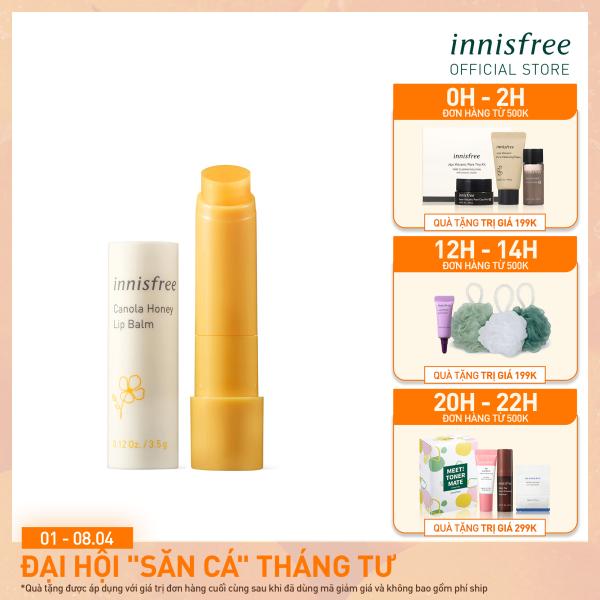 Son dưỡng môi innisfree Canola Honey Lip Balm 3.5g