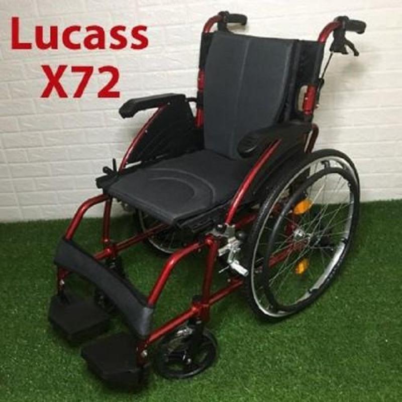 Xe lăn hợp kim nhôm kiểu dáng mạnh mẽ Lucass X72