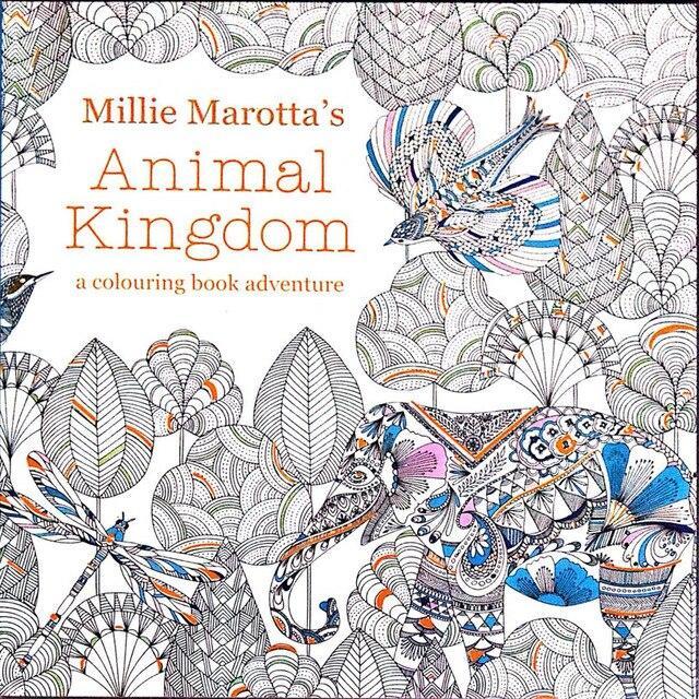 Mua Sách tô màu người lớn - ANIMAL KINGDOM