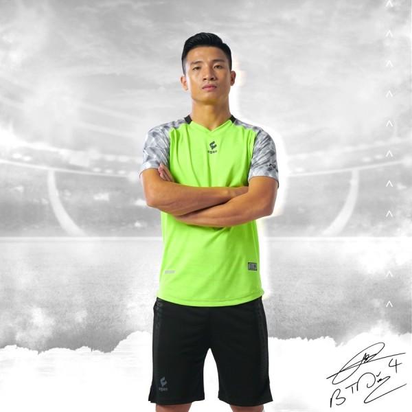 Bộ quầnáo thể thao, Bộ áo bóng đá Không logo CP TD 04 sẵn kho, giá tốt chất vải mềm mát mịn, thấm hút mồ hôi.