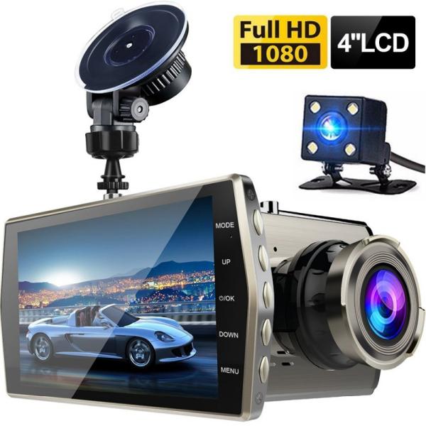 Camera Hành Trình Ô Tô X008 Full HD Trước Sau Tiếng Việt – Tặng Phiếu Bảo Hành 1 Năm Toàn Quốc