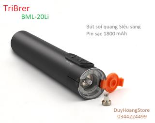 Bút soi quang Tribrer BML-20Li pin sạc 1800mAh 15km siêu sáng có tích hợp đèn LED thumbnail