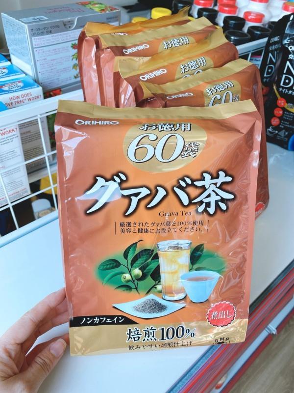 Trà Giảm Cân Ổi Orihiro 60 Gói – Nhật Bản 03/2021