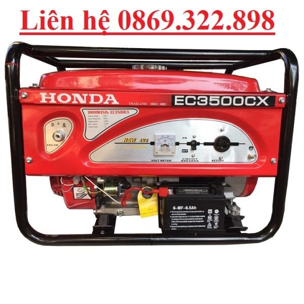 Máy Phát Điện Honda Chạy Xăng 3kw EC3500CX Đề
