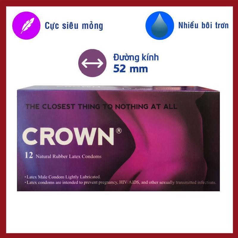 Bao Cao Su Crown - Okamoto nhập khẩu