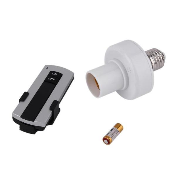 Đui đèn điều khiển từ xa không dây E27- đuôi đèn điều khiên từ xa