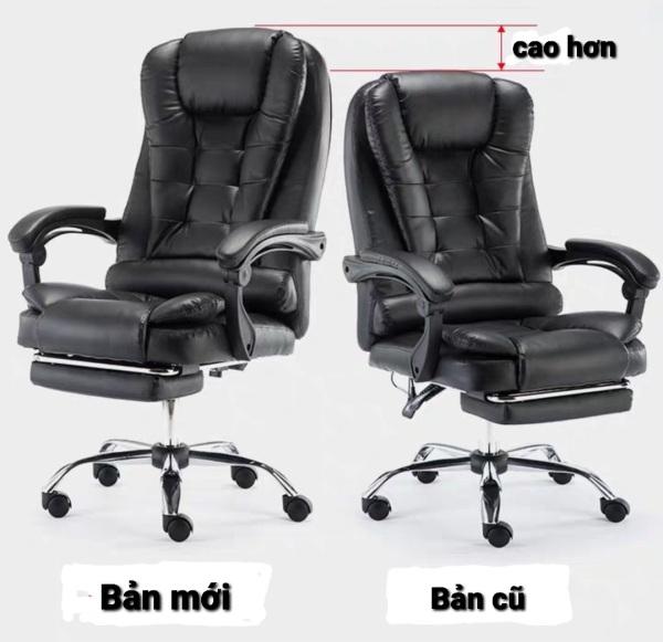 Ghế văn phòng kèm massage thư giãn bản mới SIÊU ÊM VÀ ĐẸP giá rẻ
