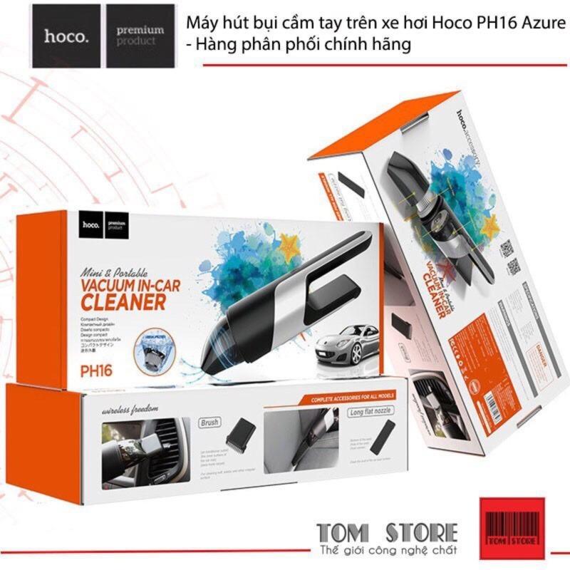 Máy hút bụi cầm tay trên xe hơi Hoco PH16 Azure- Hàng phân phối chinhs hãng