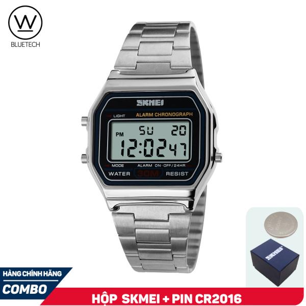 Đồng hồ Unisex SKMEI 1123 Điện Tử Khóa cài Freesize dành cho Nam và Nữ
