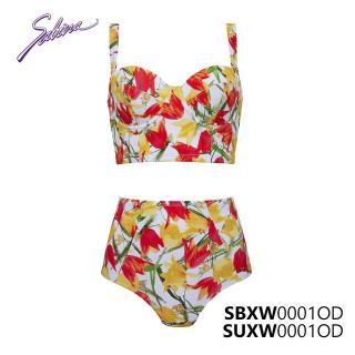Set Đồ Bơi Bikini Cao Cấp Hoa Văn Swimwear By Sabina SBXW0001OD+SUXW0001OD thumbnail
