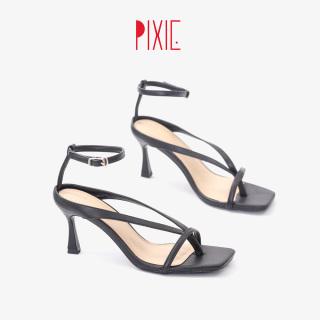 Giày Sandal Cao Gót 7cm Xỏ Ngón Pixie X730 thumbnail