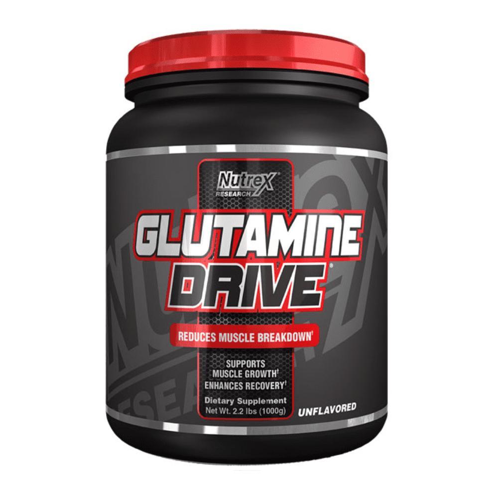 Thực phẩm chức năng Nutrex Glutamine Drive 1000g - Phục Hồi Cơ Bắp