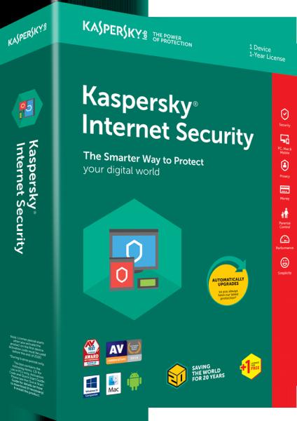 Giá Phần mềm diệt virut kaspersky internetsecuriy 1PC 2020