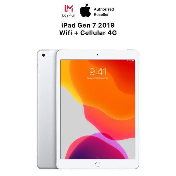 iPad Gen 7 2019 10.2-inch WiFi + Cellular(4G) - Hàng Chính Hãng