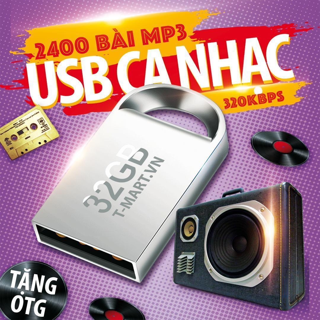 USB 32GB USB CA NHẠC CÓ SẴN 2500 BÀI NHẠC MP3 CHẤT LƯỢNG CAO Nhật Bản