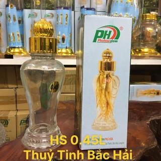 Bình Thủy Tinh Ngâm Rượu SX Tại Việt Nam HS-0.45 Lít - Thủy Tinh Bắc Hải thumbnail