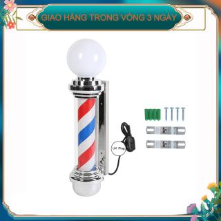 Cửa hàng cắt tóc Cực quay Mở Dấu hiệu ánh sáng Sọc Đăng ký Salon tóc Vương quốc Anh Cắm 220V thumbnail