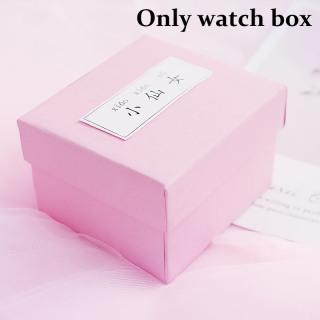 [Hot Sale] FAIRY PINK Watch Box Gift Box Decoration watch Bracelet Box Bracelet Couple Watch Box Birthday Gift 2