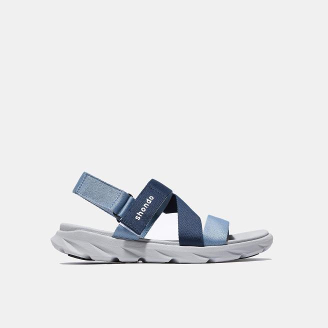Giày Sandals SHONDO F6 Sport - F6S2130-Màu Xám Xanh mới giá rẻ