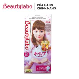 Thuốc nhuộm tóc tạo bọt Beautylabo 125ml Whip Hair Color Nhật Bản thumbnail