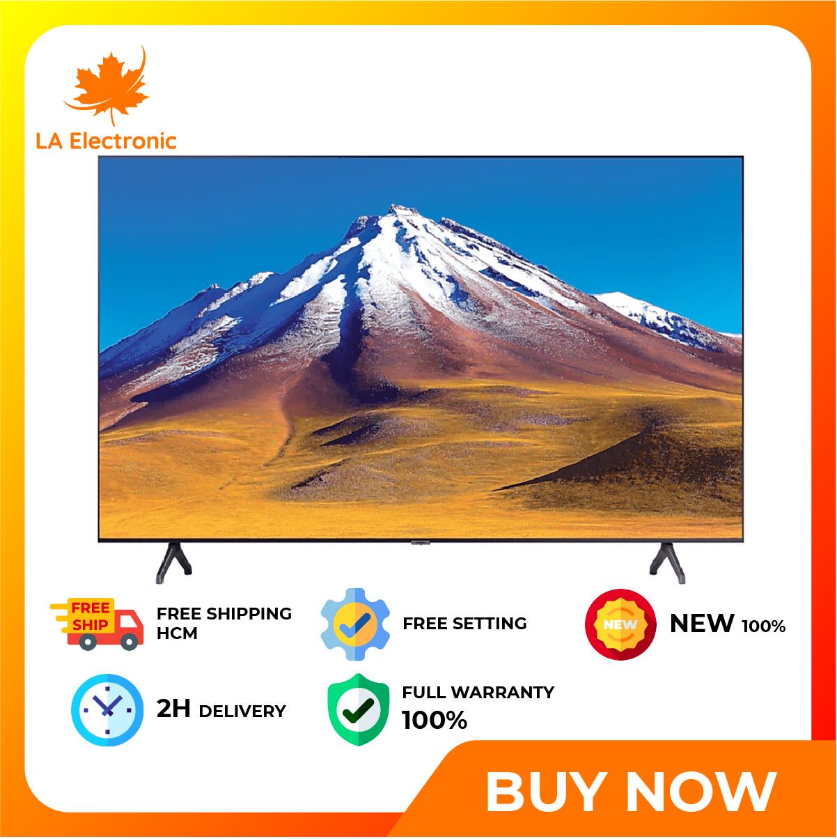 [Trả góp 0%]Installment 0% - Smart TV Samsung 4K 65 inch UA65TU6900 - Miễn phí vận chuyển HCM