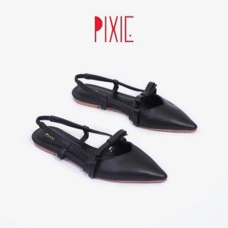 Giày Sục 1cm Nơ Nhí Mũi Nhọn Pixie X757 thumbnail