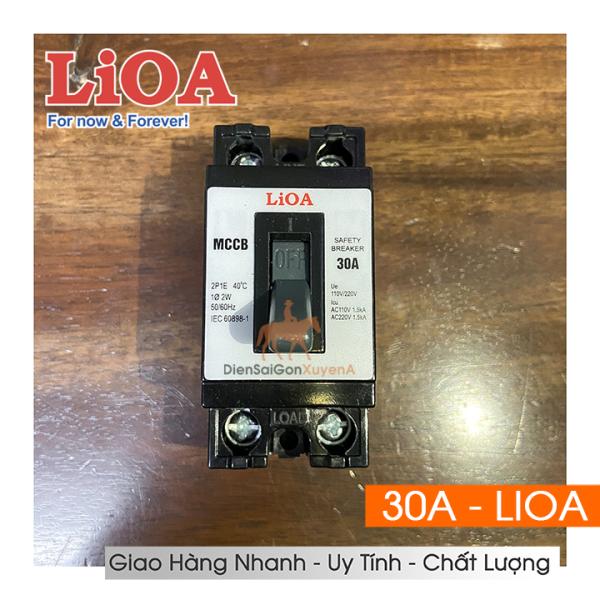 Cầu Dao Aptomat An Toàn LIOA, CB Cóc Lioa 30A - Điện Sài Gòn Xuyên Á