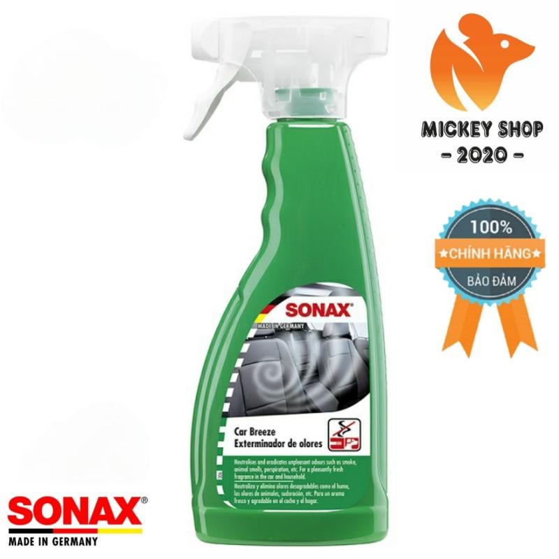[CAO CẤP] Dung Dịch Khử Mùi Trong Nội Thất SONAX Car Breeze Smoke-Ex 500 ml 292241