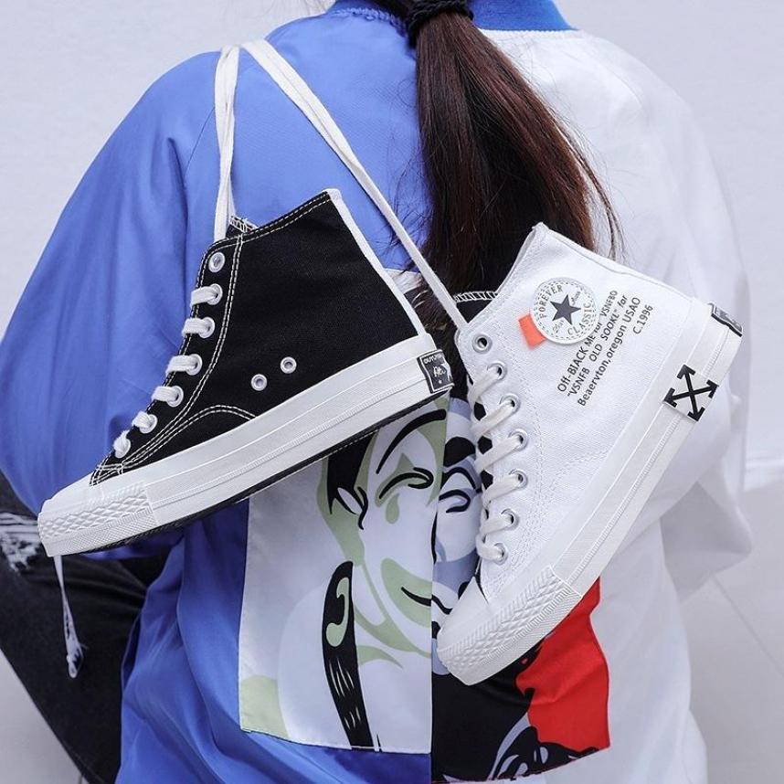 Giày Nữ cao cổ 2 màu Đen trắng siêu đẹp giá rẻ