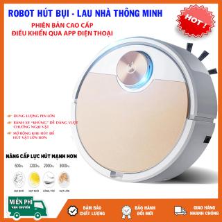 Robot Hút Bụi Giá Rẻ, Máy Hút Bụi Khỏe Tốt, Robot Hút Bụi Tự Động, Robot Hút Bụi Đa Năng, Điều Khiển Qua App Điện Thoại, Động Cơ Khỏe Hút Bụi Nhanh thumbnail