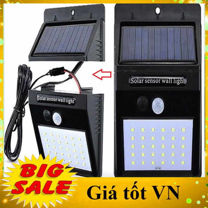 [ĐẠI HẠ GIÁ - CAM KẾT CHẤT LƯỢNG] Bóng đèn LED năng lượng mặt trời 30 Led, Pin và đèn tách rời, cảm biến hồng ngoại 3 chế độ chiếu sáng, dây sạc dài 2,5m