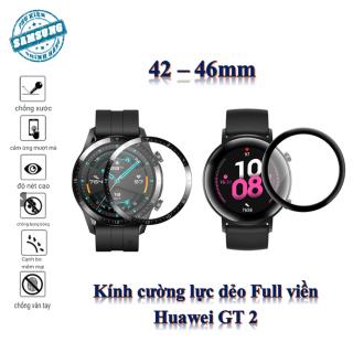 Kính Cường Lực Bảo Vệ Màn Hình Đồng Hồ Huawei Gt2 Gt 2 42mm 46mm thumbnail