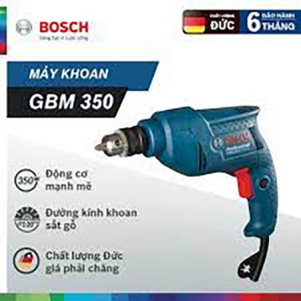 Máy khoan  10mm 350W Bosch GBM 350 RE