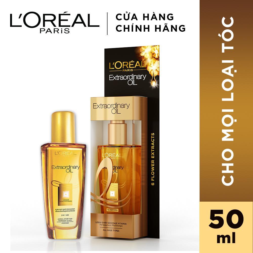 Dầu dưỡng chiết xuất tinh dầu hoa tự nhiên LOreal Paris Elseve Extraordinary Oil Ultra Nourishing 50ml