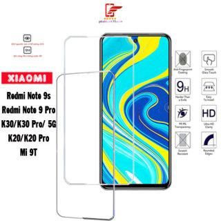 Kính cường lực Xiaomi Redmi Note 9s Note 9Pro K30 K30Pro K30 5G K20 K20 Pro Mi 9T poco F2 pro X3 NFC-Trong suốt- Không viền thumbnail