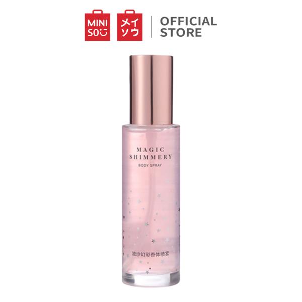 Nước xịt thơm Glittering (Pink) Miniso Glittering Fragrance Spray(Pink)