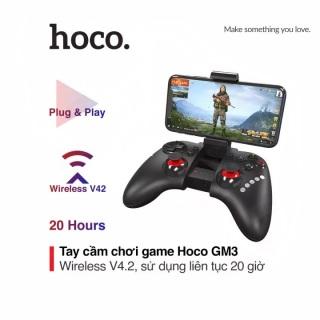 Bộ tay cầm chơi game Bluetooth Hoco GM3 dung lượng 380mAh có cần điều khiển cho 20 giờ sử dụng thumbnail