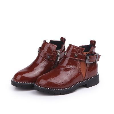 Giá bán giày Bốt Bé Gái Size 27 da bóng