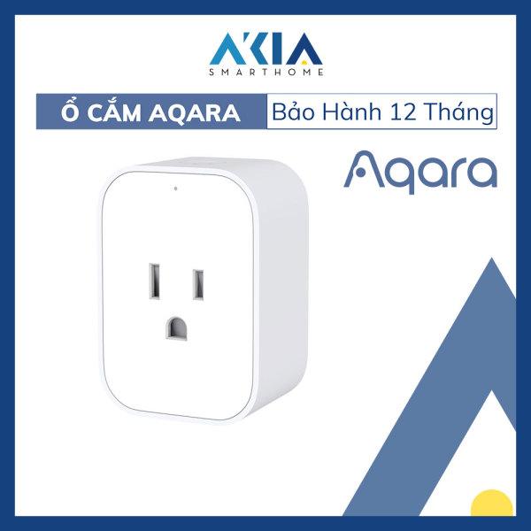 Ổ cắm điện thông minh tiêu chuẩn Mỹ Aqara Smart Plug (US) ZNCZ12LM - Hàng Chính Hãng BH 12 Tháng
