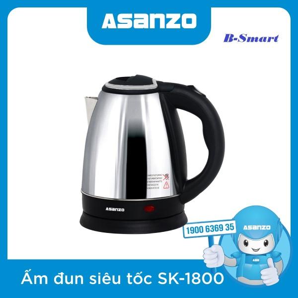 Bảng giá Ấm siêu tốc Asanzo SK-1800 Điện máy Pico