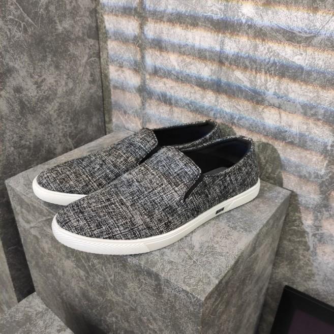 Giày lười nam Muidoi G216 (Xám Đế Trắng) giá rẻ
