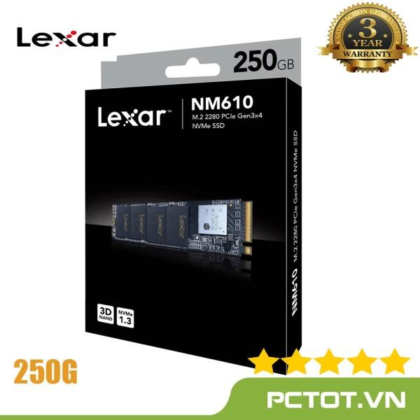 Bảng giá Ổ cứng SSD PCIe NVMe Lexar NM610 250GB - Mai Hoàng Phong Vũ
