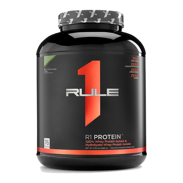 WHEY PROTEIN - RULE 1 - R1 PROTEIN - 5lbs - Bổ sung protein tăng cơ giảm mỡ